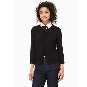 Kate Spade Somerset Cardigan in Black